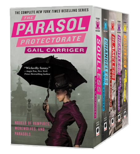 Parasol Protectorate Box Set Free Download