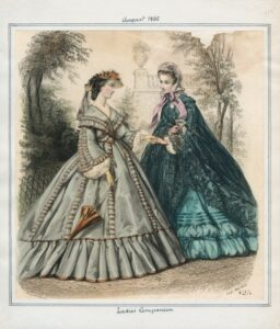 1862 Title- Ladies' Companion Date- Friday, August 1, 1862 Item ID- v. 42, plate 115