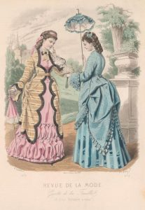 1872 Fashion plate via shewhoworshipscarlin tumblr