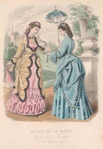 1872 Fashion plate via shewhoworshipscarlin tumblr