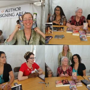 SFA-RWA @sfarwawriters Our panelists are signing their books after a phenomenal panel! @BayBookFest