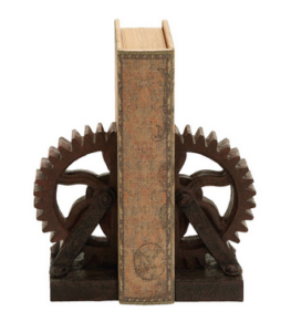 Steampunk Book Ends