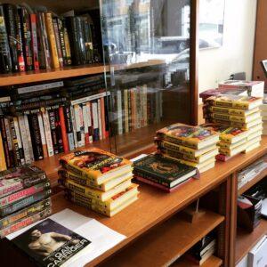 Signed Books at Borderlands