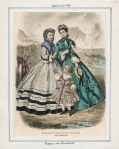 1862 Magasin des Demoiselles Monday, September 1, 1862 v. 42, plate 120