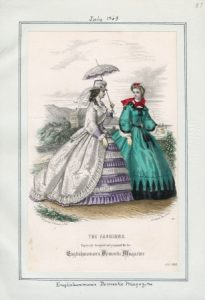 Englishwoman's Domestic Magazine Wednesday, July 1, 1863 v. 43, plate 57