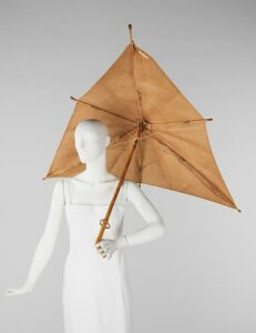 Parasol by Schiaparelli, 1937-40, France