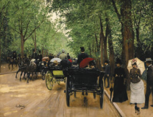 Jean Béraud (1849-1935) - Bois de Boulogne