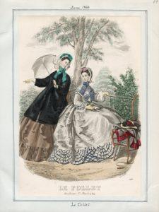 Le Follet Monday, June 1, 1863 v. 43, plate 49