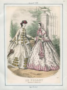 Le Follet Saturday, August 1, 1863 v. 43, plate 60