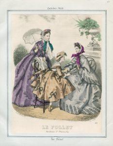 Le Follet Thursday, October 1, 1863 v. 43, plate 76