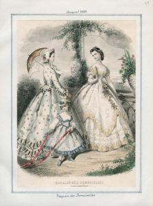 Magasin des Demoiselles Saturday, August 1, 1863 v. 43, plate 59