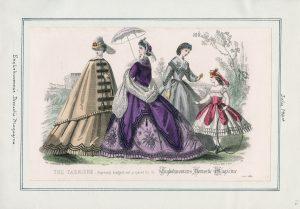Englishwoman's Domestic Magazine Friday, July 1, 1864 v. 44, plate 16