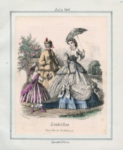 Cendrillon Saturday, July 1, 1865 v. 45, plate 12