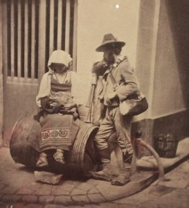 Organ Grinder Paris 1853
