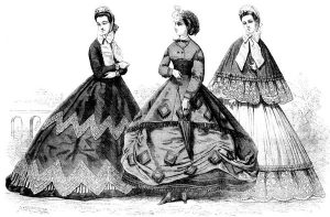 Victorian Web @VictorianWeb Paris fashions for Sept., ILN 1864