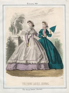 Joung Ladies Journal- Wednesday, February 1, 1865 Item ID- v. 44, plate 76