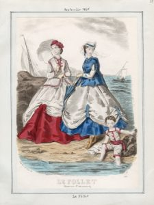 Le Follet Friday, September 1, 1865 Item ID- v. 45, plate 24