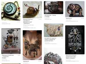 Madame Lefoux type gadgets on Gail's Pinterest boards