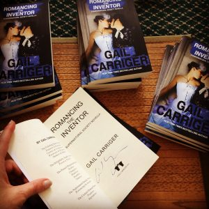 Gail Carriger Signing Romancing the Inventor for Borderlands Book, San Francisco, Oct 2016