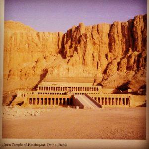 Temple of Hatshepsut Egypt Middle Kingdom, British Museum display