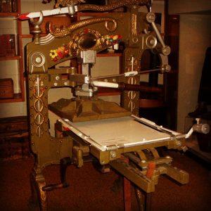 Victorian Printing Press, New Zealand