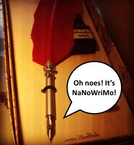 Gail Carriger on NaNoWriMo