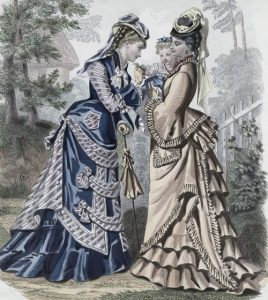 Fashion plate, 1875 shewhoworshipscarlin tumblr