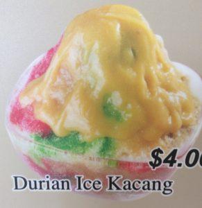 Durian Ice Kacang = Disgusting