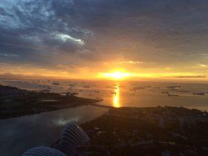 Marina Bay Sands Sunrise