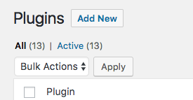 1. WordPress Plugin