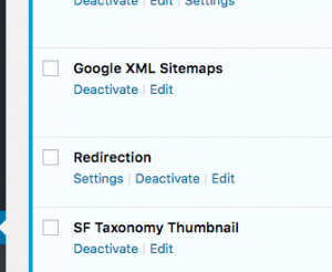 2. WordPress Plugin Redirection