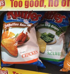 Ruffles Chicken & Seawed