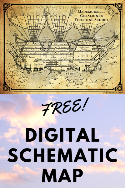 Free Digital Schematic Map Gail Carriger Finishing School