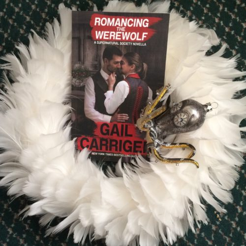 RTW Feather Wreath Octopus Decoration Christmas Romancing the Werwolf Gail Carriger