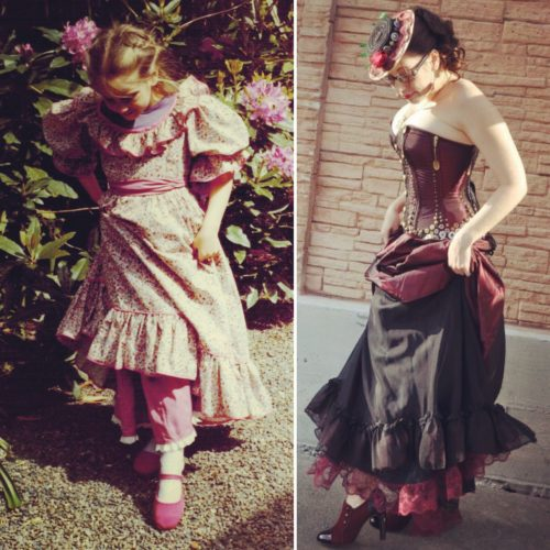 Gail Carriger #cosplayersaskids Pink Kid Baby Spoons Steampunk Shoe
