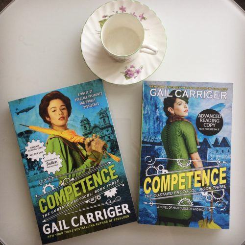 Both Editions Competence UK USA CP Teacup Gail Carriger