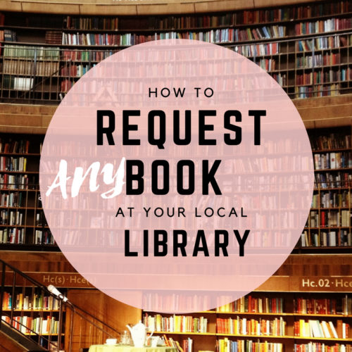 how to request ebooks from library