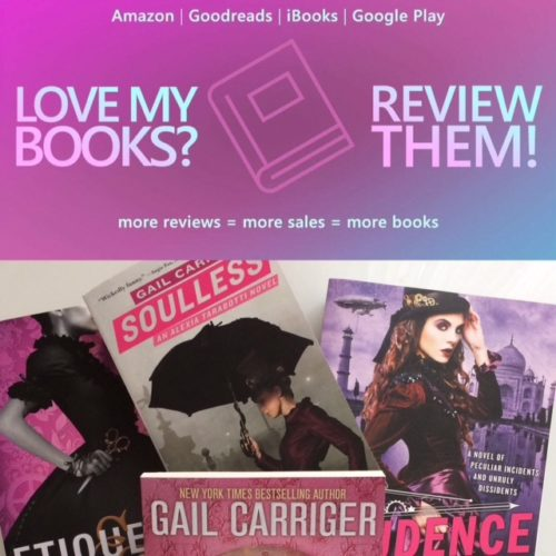 Love My Books Review Them Gail Carriger