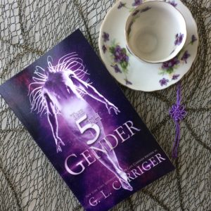 5th Gender 5G teacup purple promo Gail Carriger