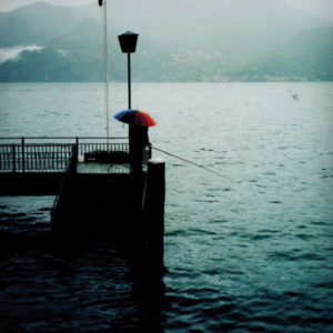 Lake Como Italy in 2000 by Gail Carriger umbrella parasol