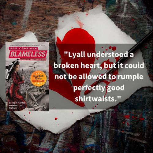 Quote Blameless Broken Heart Waistcoats Lyall