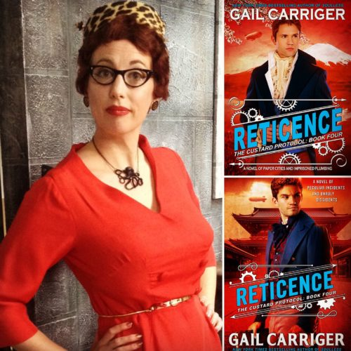 Gail Carriger and Reticence