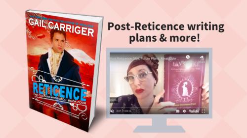 Gail Carriger FB LIVE! Post Reticence Fan Service Free PDF