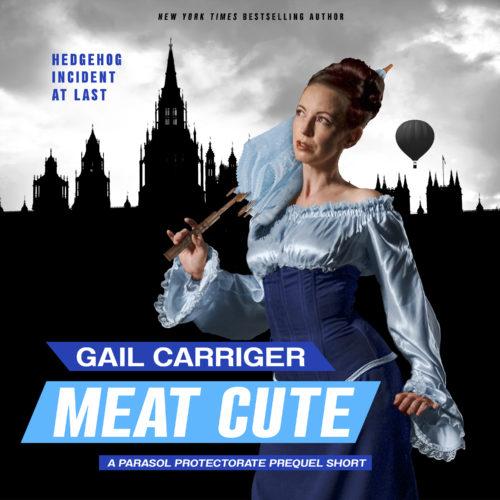 Meat Cute Audiobook Cover Art Hedgehog Incident