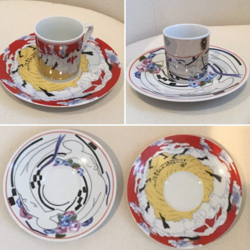 Gail Carriger Mirror Teacups