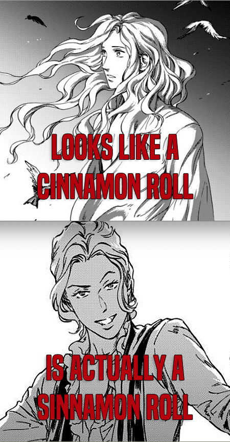 Cinnamon roll Lord Akeldama
