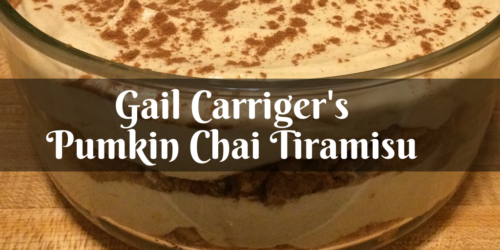 Pumpkin Chai Tiramisu Recipe Free From Gail Carriger