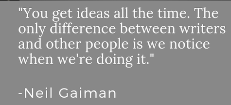 neil gaiman quote writer idea