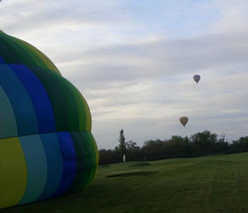 Balloon Ride Hot Air Take Off Gail Carriger