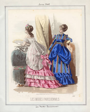 Justice (pink) Dimity (blue)
